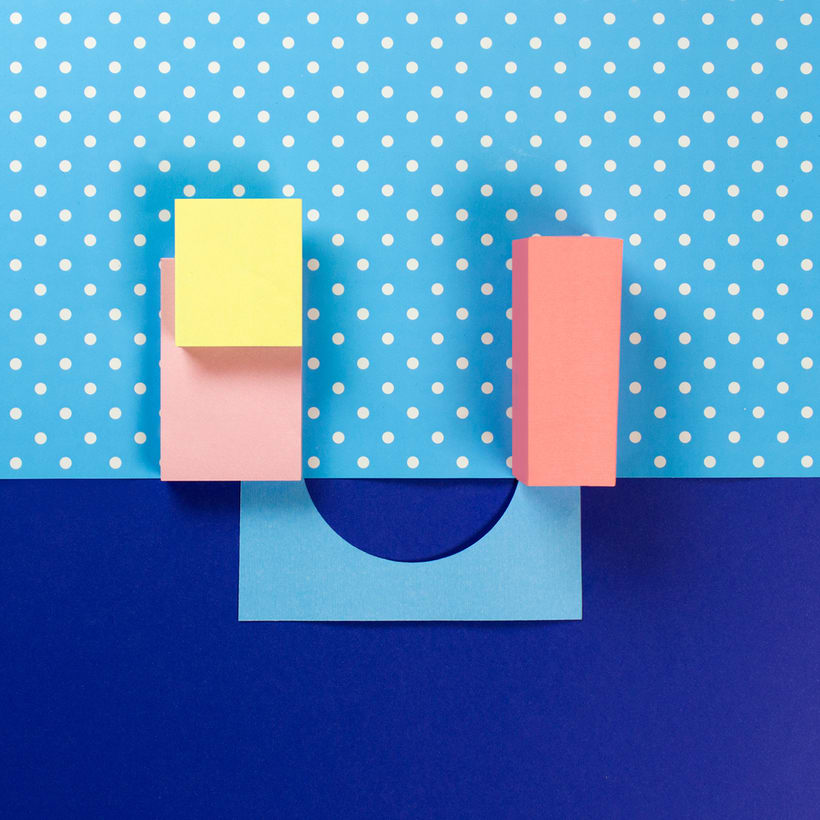 Colorful Paper Craft Alphabet 23