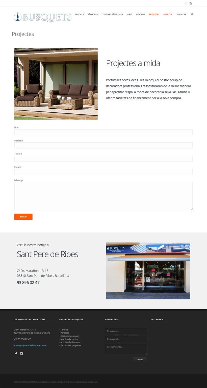 Tendalls Busquets  | Website 5