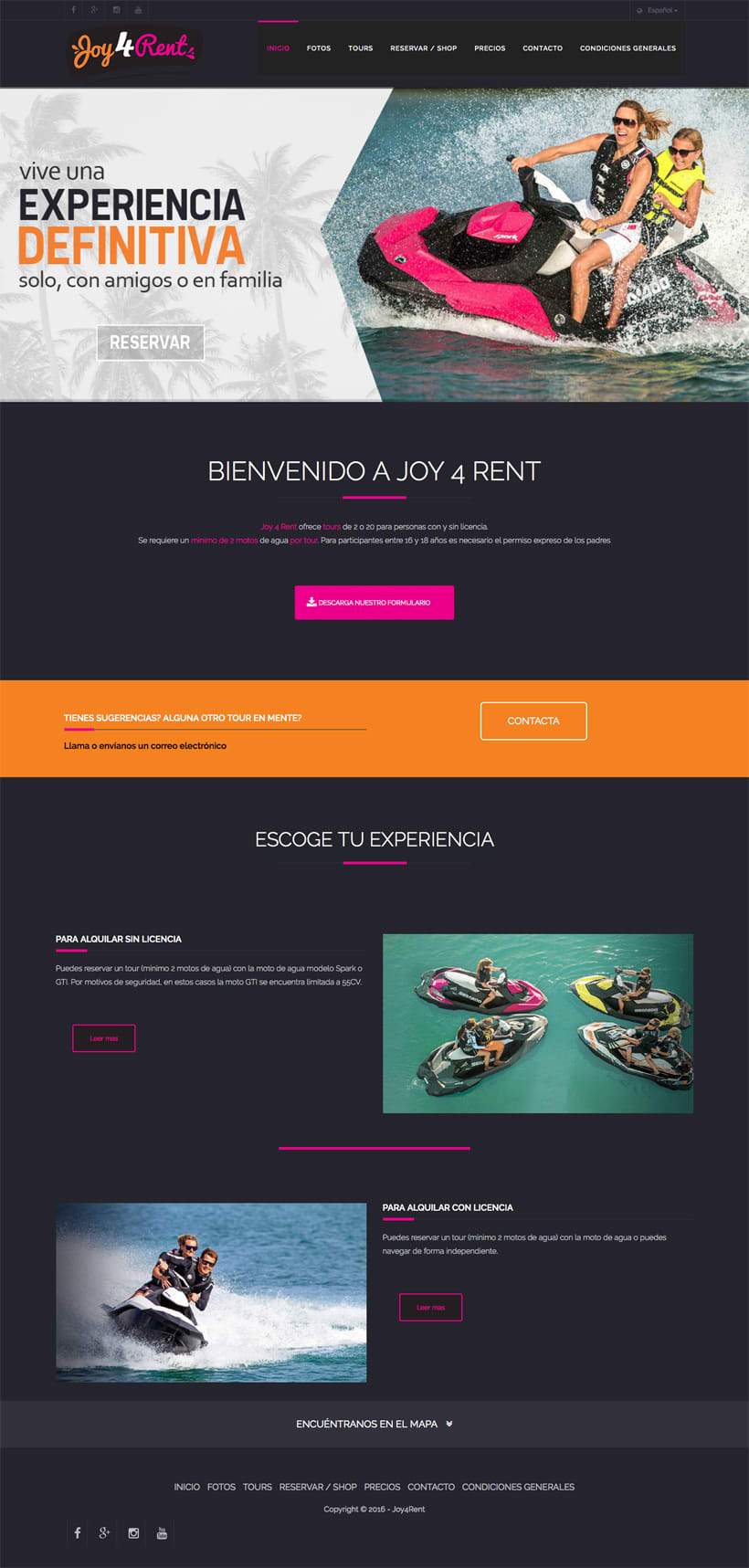 Joy4Rent | Website 0