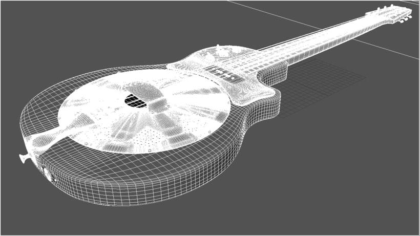Resoelectric Revolver. Diseño Maya. Render Mental Ray. 4