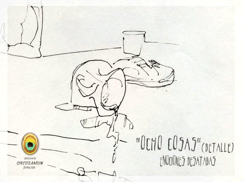 El Cánon de Ortegamun. Serie de dibujos a tinta china sobre papel. 4