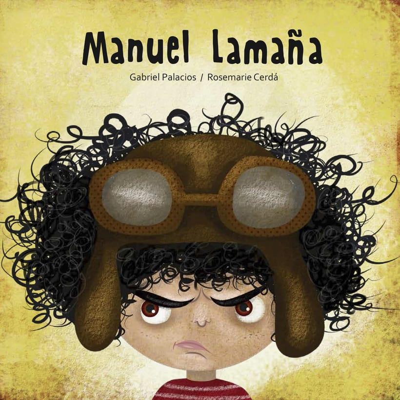 Ilustraciones para libro infantil Manuel Lamaña. 2