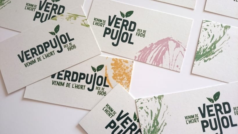 Identidad visual Handmade para Verd Pujol. 0