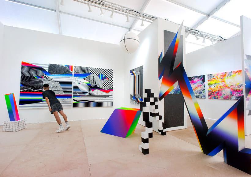 Felipe Pantone: arte urbano con vistas al hiperespacio 5