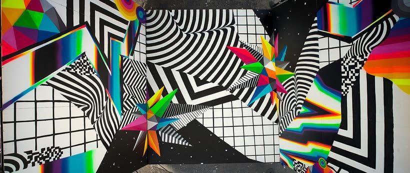 Felipe Pantone: arte urbano con vistas al hiperespacio 9