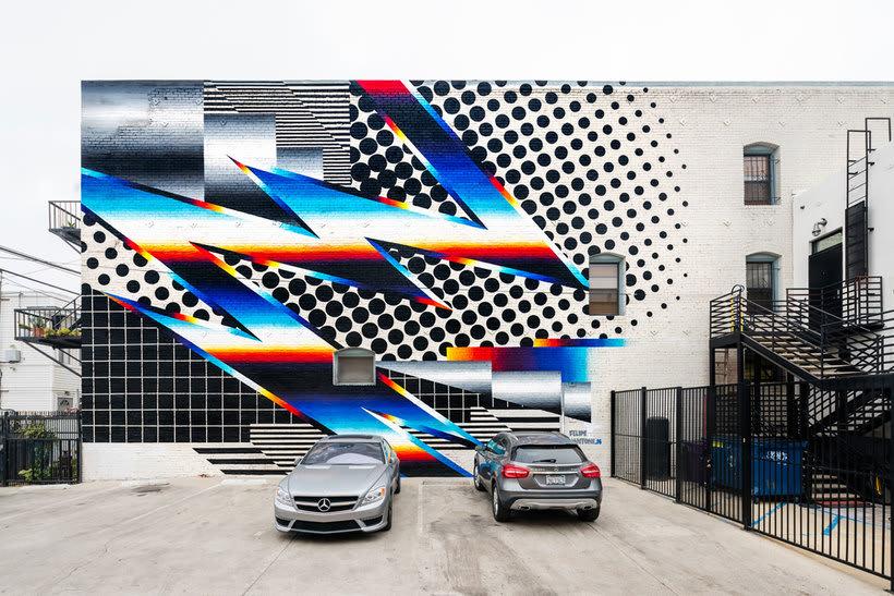 Felipe Pantone: arte urbano con vistas al hiperespacio 10