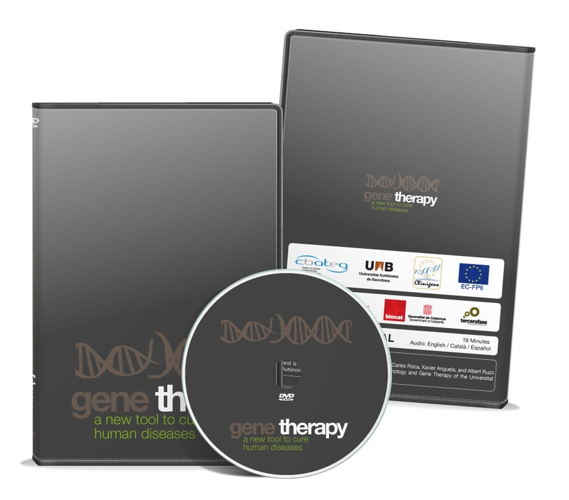 Caratula DVD Gene Therapy 1
