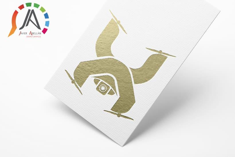 Logotipo para una empresa particular de Drones 4