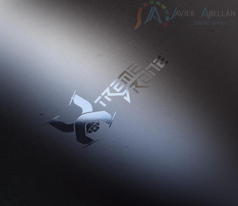 Logotipo para una empresa particular de Drones 5