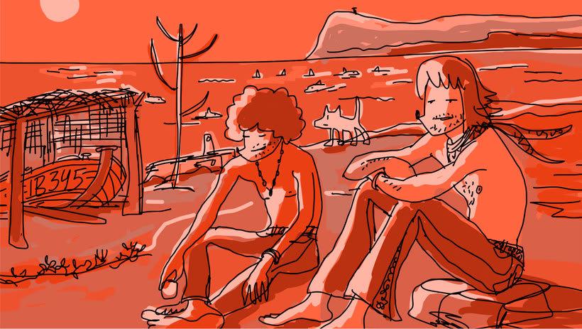 Vuelve Mariscal con 'Apuntes. Bocetos de una peli de Garriris' 3
