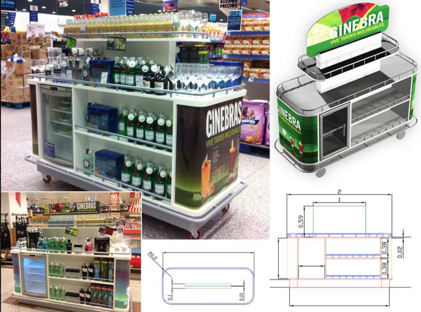 Dise o y montaje espacios comerciales domestika - Diseno espacios comerciales ...
