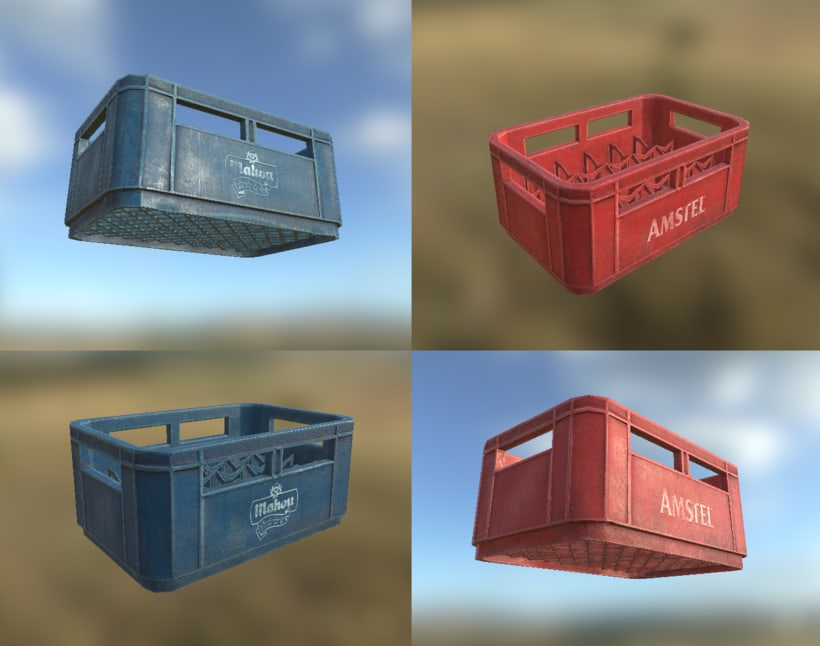 Low poly props 2