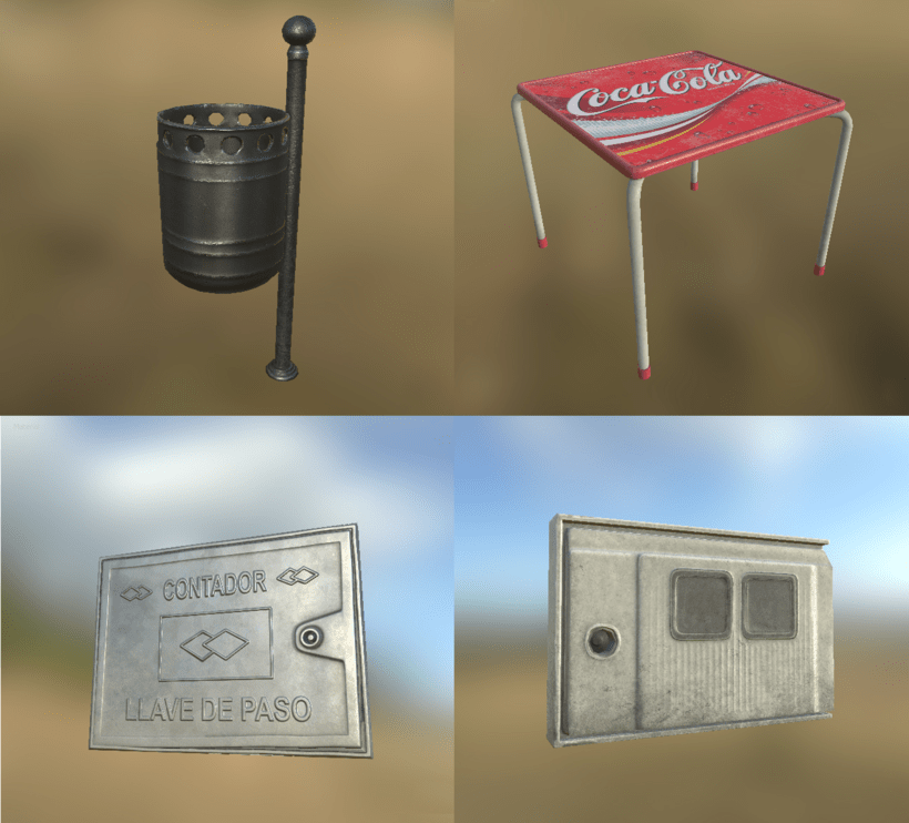 Low poly props 5