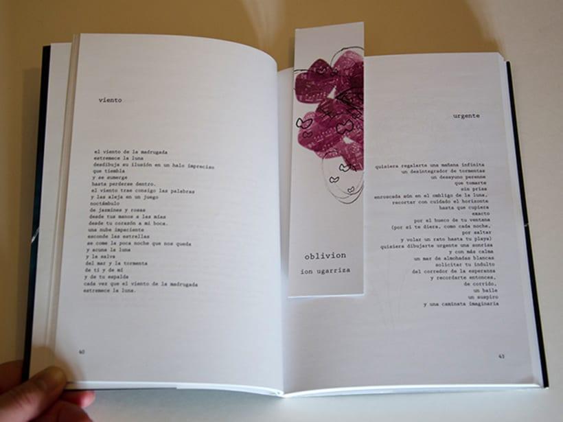 oblivion. edición completa de un libro de poesía. 5