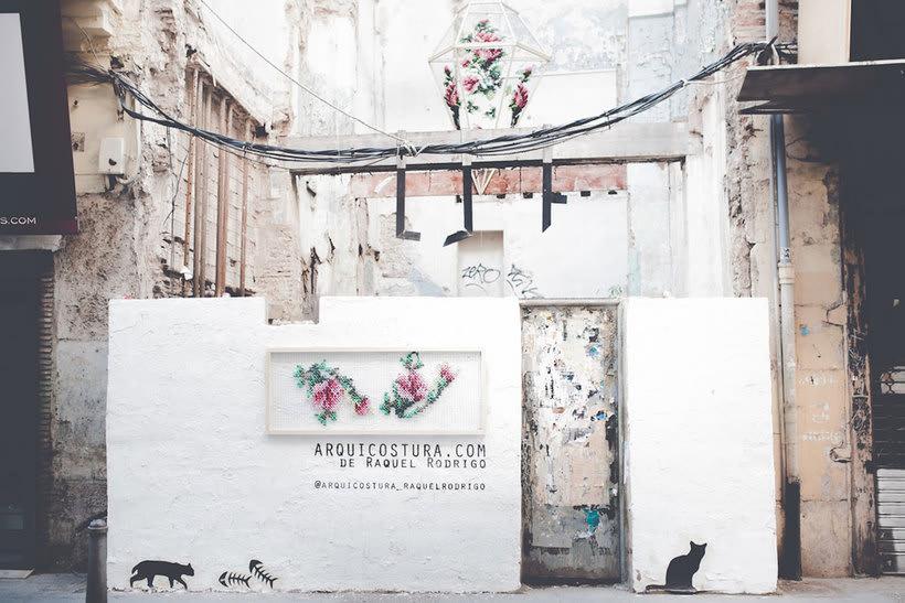 Arquicostura: bordando paredes 9