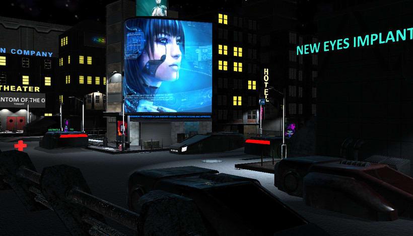 Cyberpunk city 0