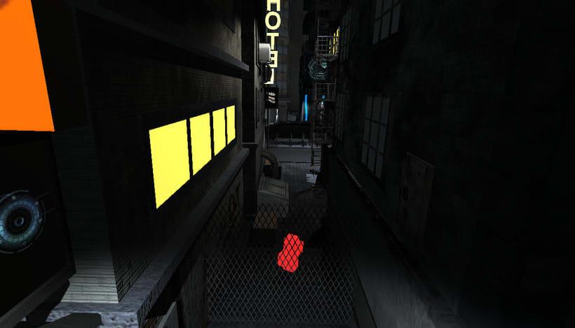 Cyberpunk city 1