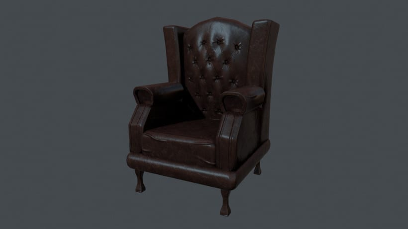 chesterfield chair  -1