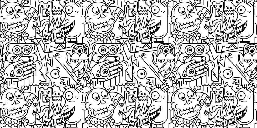 Mi Proyecto del curso: Pattern Design analógico y digital 0