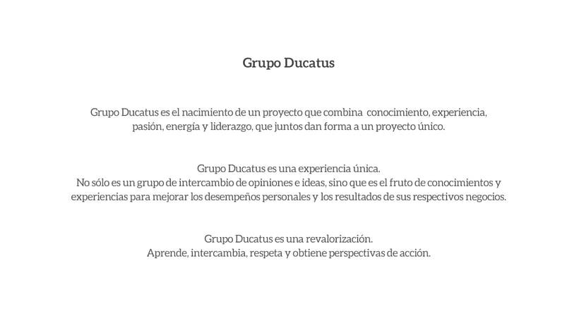 Grupo Ducatus 0