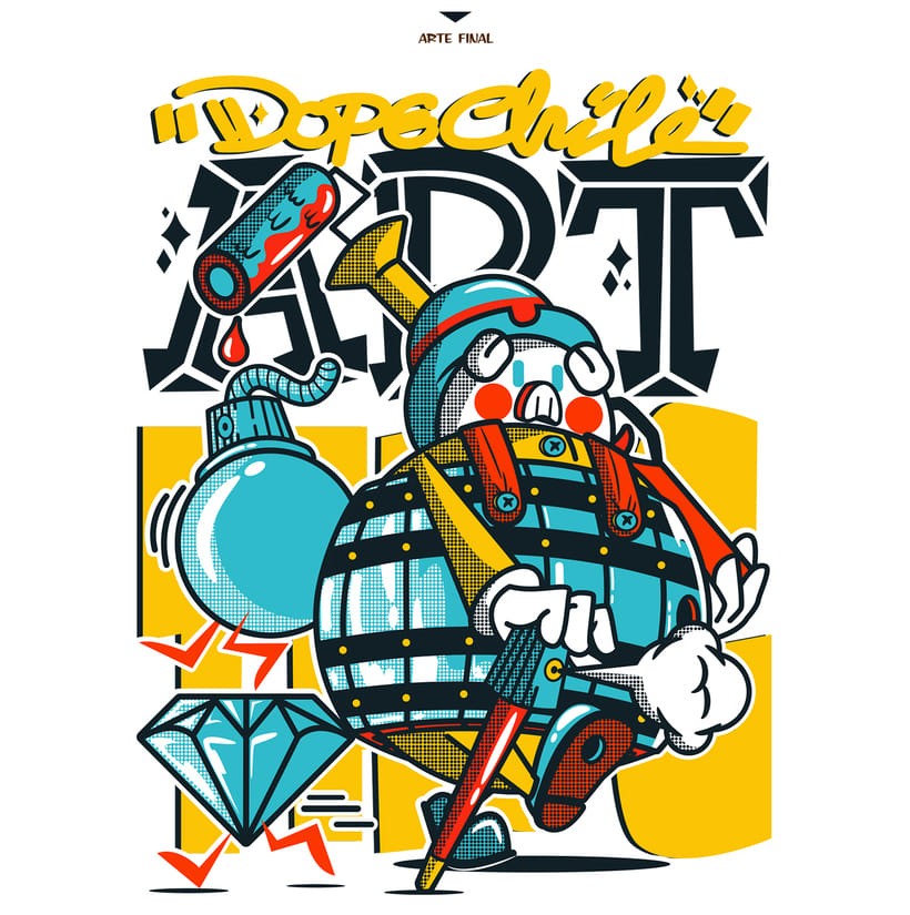 DOPE MAGAZINE T-SHIRT 2