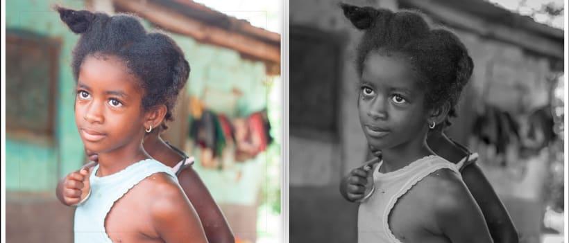 LIBRO.  ANTES y DESPUÉS.    Fotos de Gambia. Curso Revelado LIGHTROOM 5