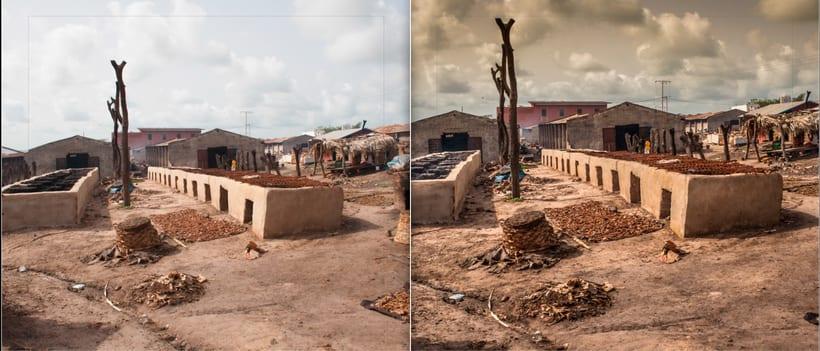 LIBRO.  ANTES y DESPUÉS.    Fotos de Gambia. Curso Revelado LIGHTROOM 3