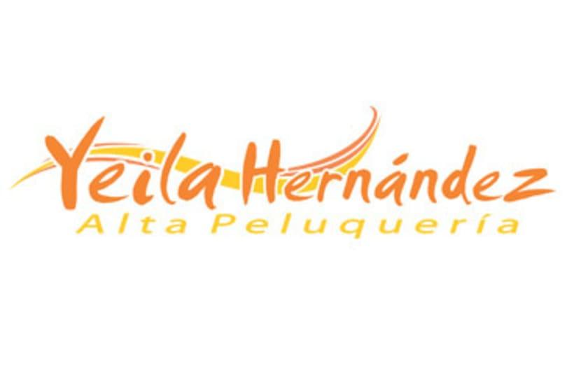 Logotipo Peluquería Yeila Hernández -1