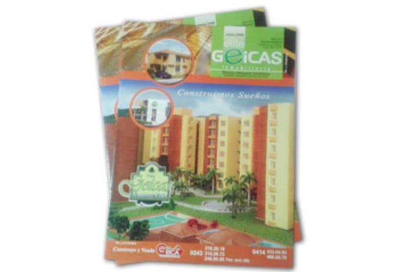 Diseño y maquetación Revista inmobiliaria Geicas -1