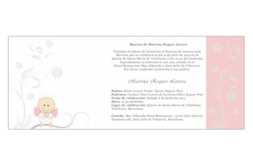Diseño e impresión de invitación -1