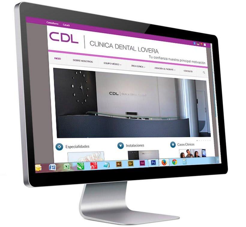 Diseño web Clínica Dental Lovera -1