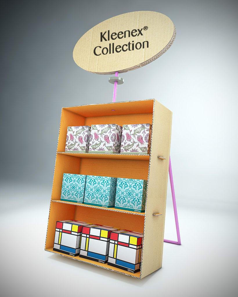 Propuesta de muebles y eventos para Kleenex 0