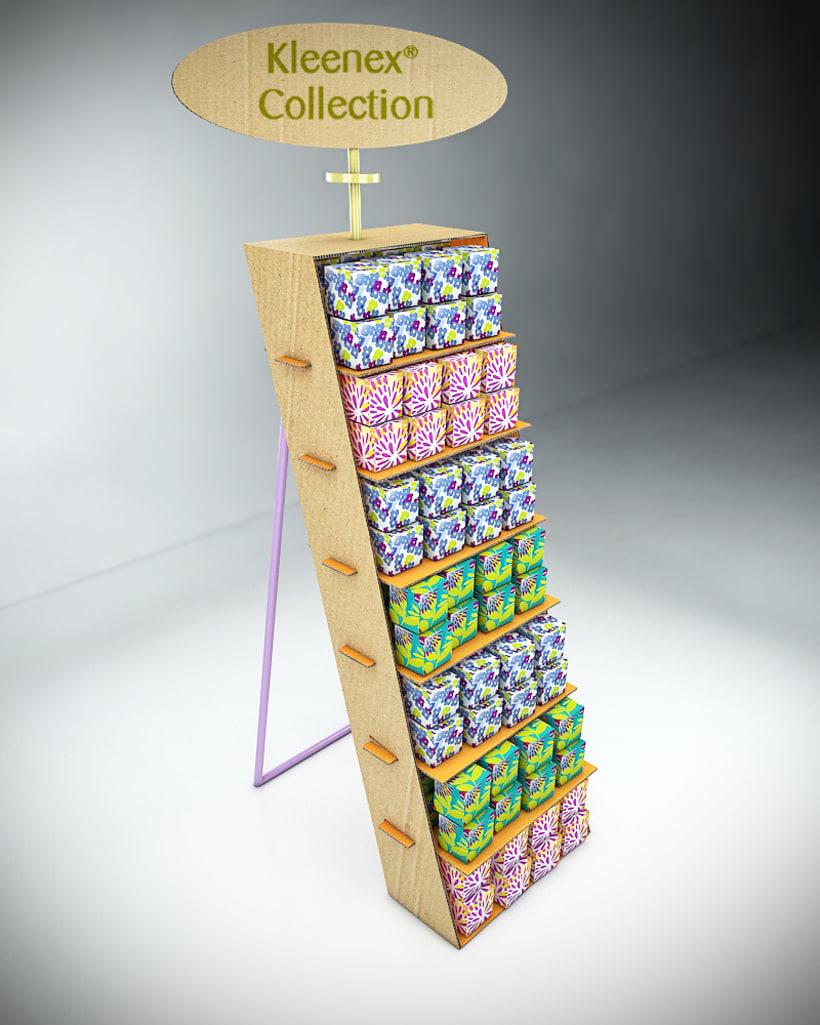 Propuesta de muebles y eventos para Kleenex 1