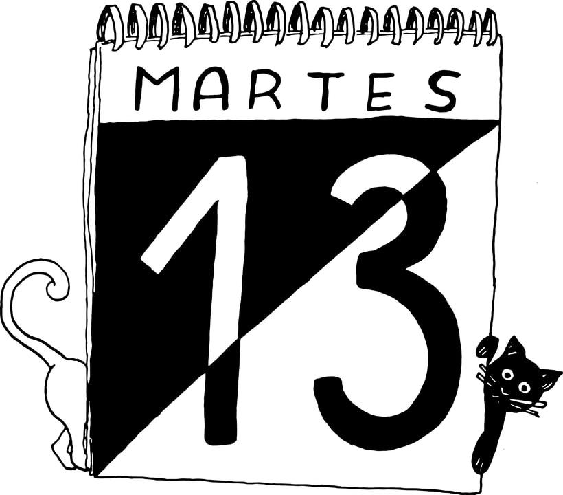 Martes 13 Ilustración 0