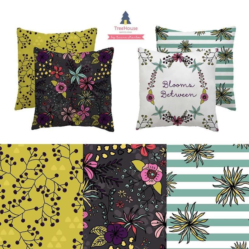 Diseño de estampados - Fancy Florals 0