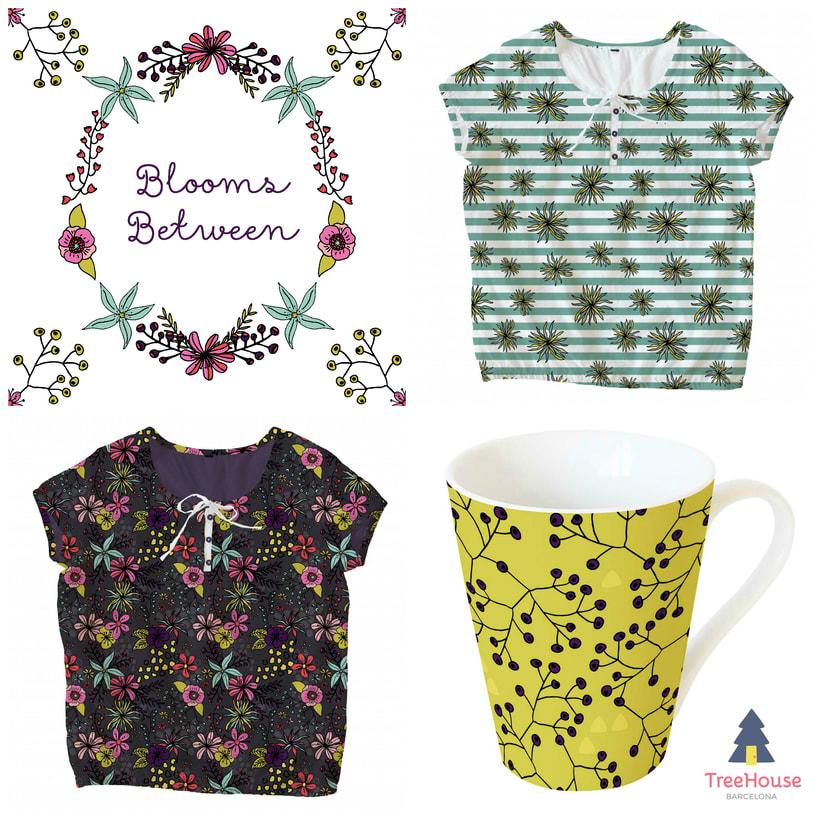 Diseño de estampados - Fancy Florals 1