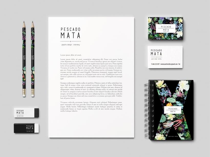 P E S C A D O M A T A · graphic design · branding · 0