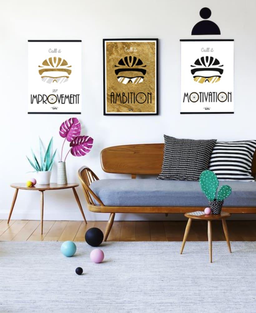 KMS KeepMakingSmiles _ Diseño de pósters para la decoración del hogar. 2