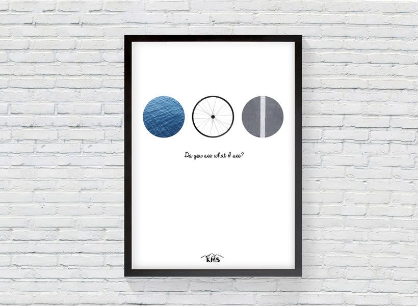 KMS KeepMakingSmiles _ Diseño de pósters para la decoración del hogar. 1