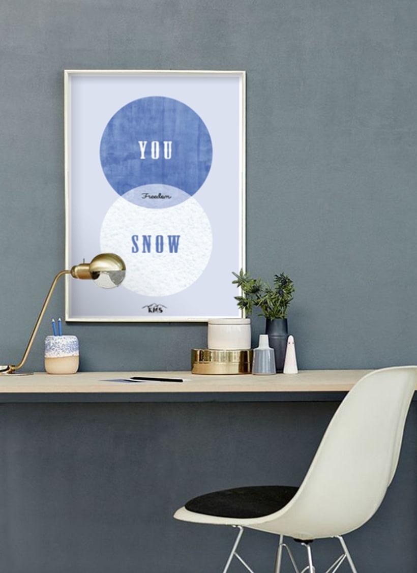KMS KeepMakingSmiles _ Diseño de pósters para la decoración del hogar. 11