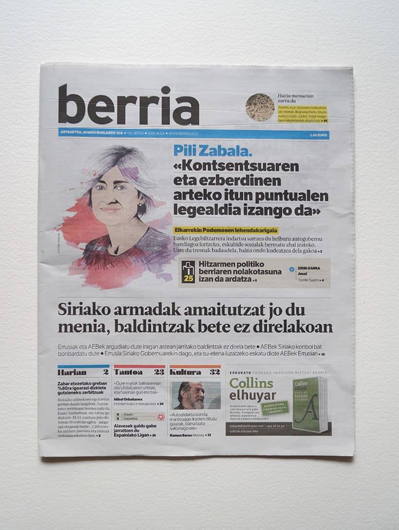 Berria. Retratos políticos 12