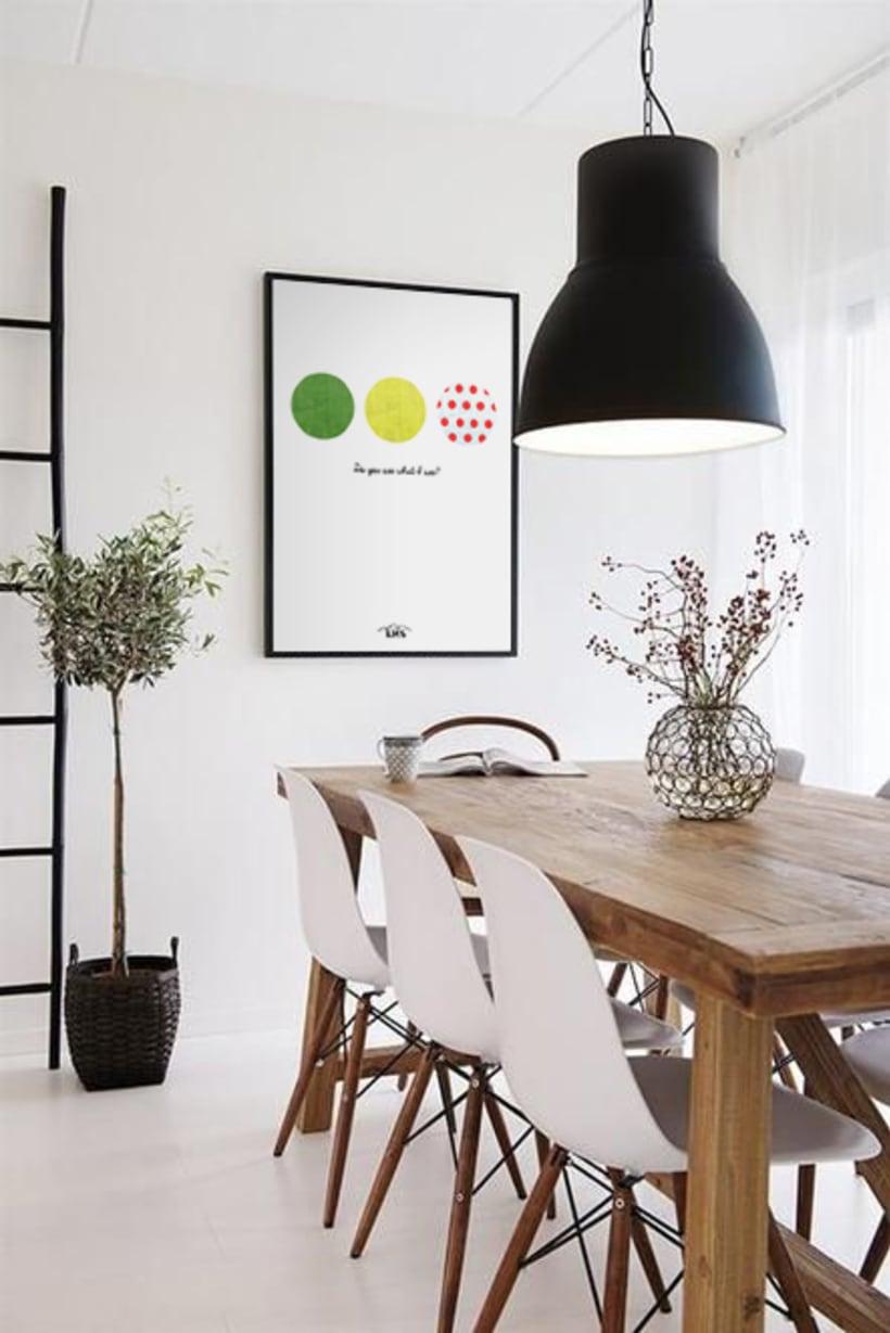KMS KeepMakingSmiles _ Diseño de pósters para la decoración del hogar. 4