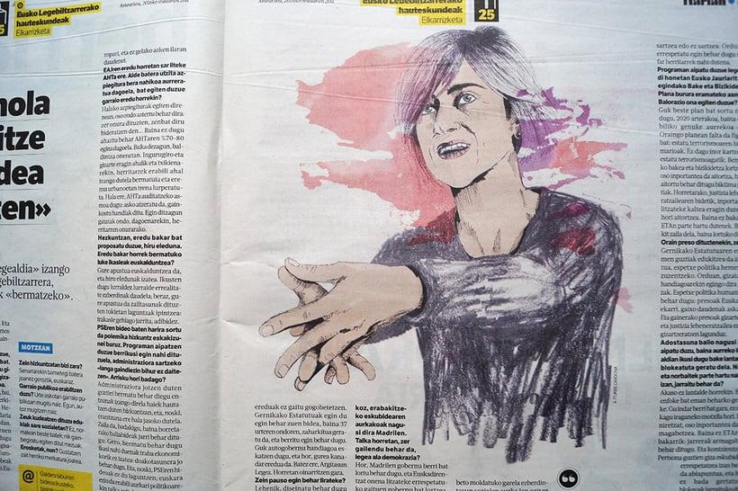 Berria. Retratos políticos 15