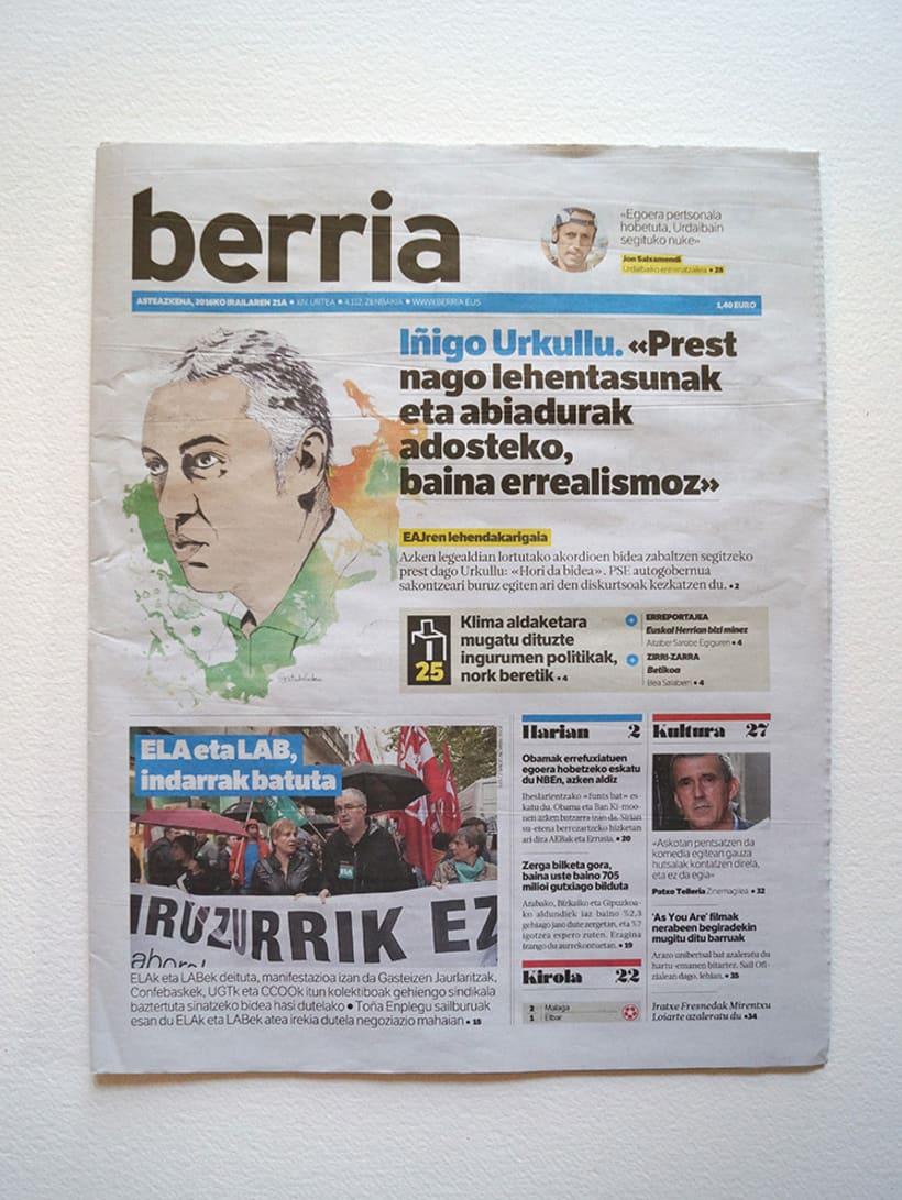 Berria. Retratos políticos 16