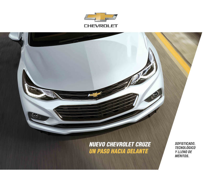 Chevrolet Cruze - Folleto 0