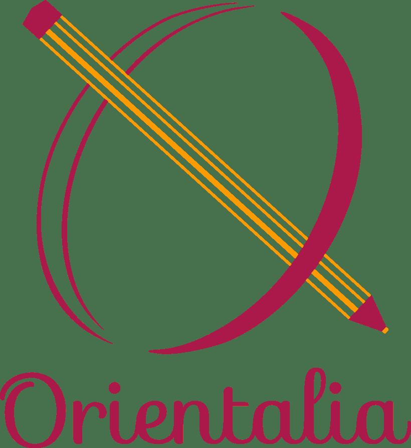 Orientalia: identidad gráfica, material publicitario. 0