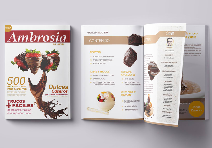 Ambrosia Magazine 1