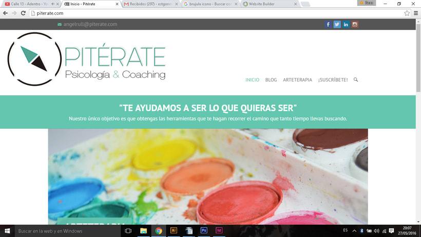 Pitérate. Psicología y coaching. Imagen corporativa 3
