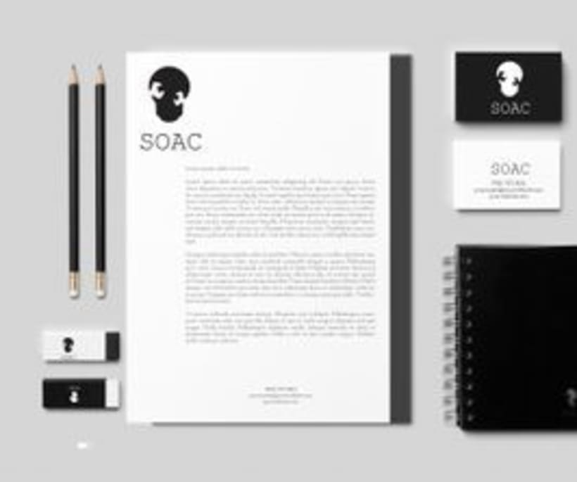 Soac Furniture Workshop. Imagen corporativa, logotipos, catálogos. -1