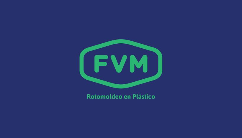 Rediseño de imagen para FVM una empresa dedicada a la fabricación y comercialización de productos plásticos para la industria, el campo, el comercio, municipios, comunas y empresas. 0